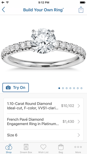 Blue Nile Diamonds Jewelry on the App Store