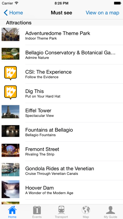 Las Vegas Travel Guide Offline screenshot four