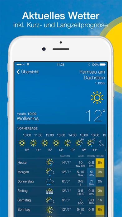 Screenshot #2 pour bergfex/Wetter