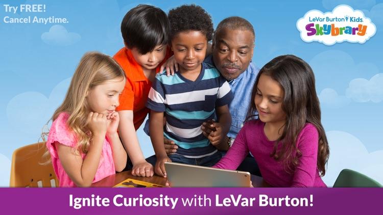 LeVar Burton Kids Skybrary screenshot-0