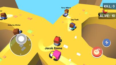 Bumper Kart.io: Crash and Bomb Screenshot on iOS