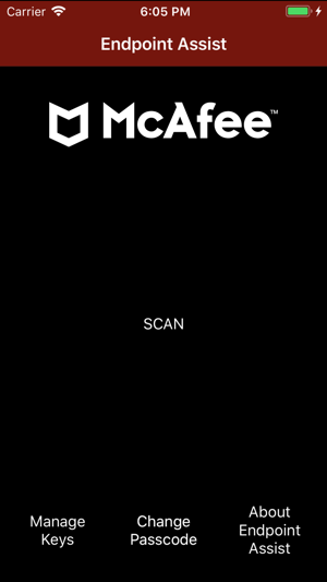 McAfee Endpoint Assistant on the App Store