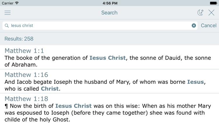 1611 King James Bible Version screenshot-3