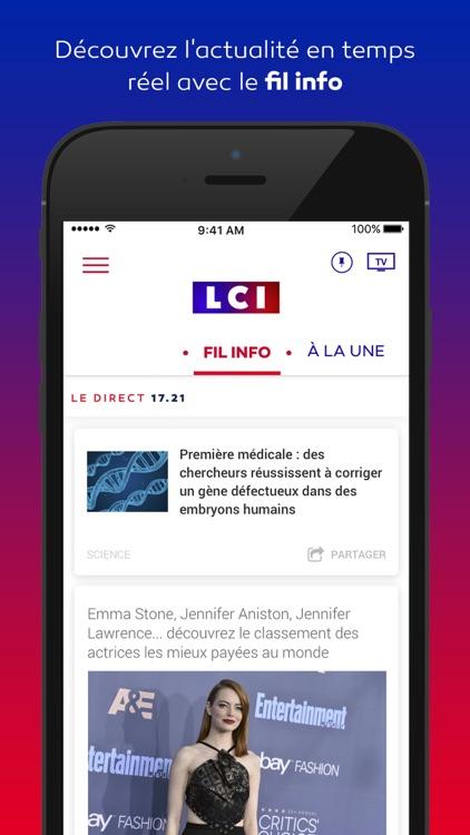 LCI, la chaîne info en continu
