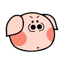 Mr Piggy Stickers