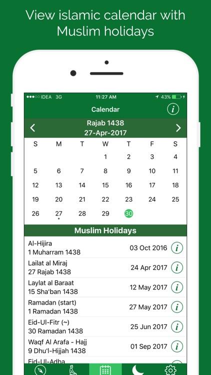 Muslim Prayer Times & Qibla