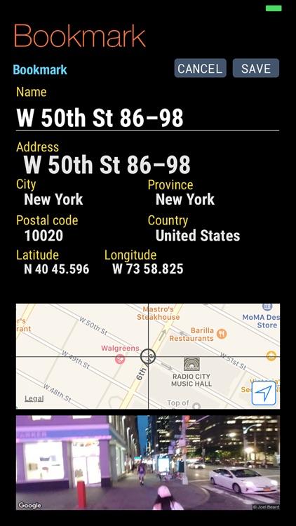 Quickgets Geo: geodata widgets screenshot-6