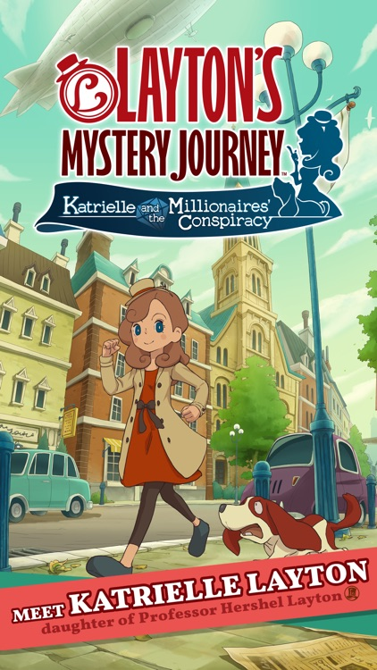 Layton's Mystery Journey screenshot-0