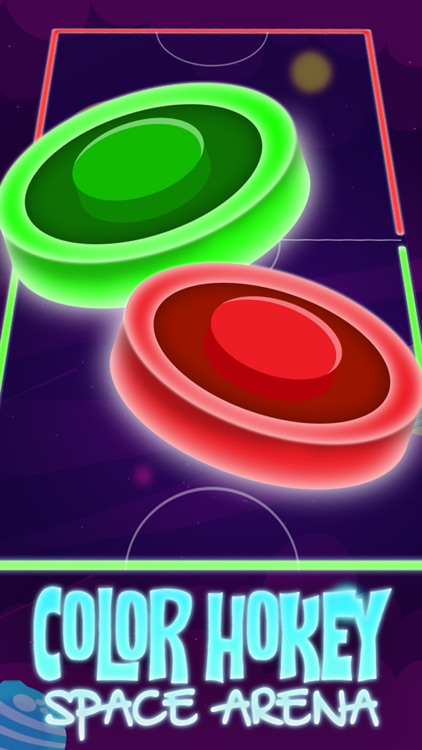 Color Hockey - Space Arena