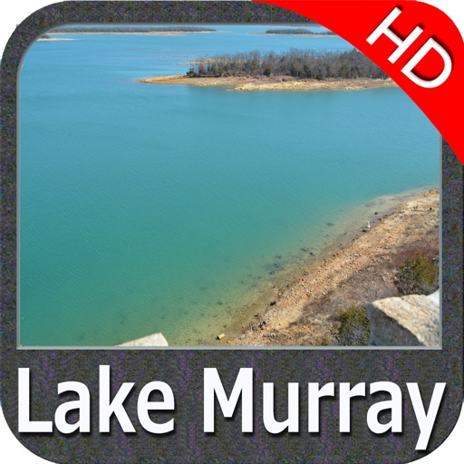 Lake Murray SC Fishing Maps HD