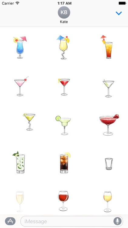 Beverage Drinksmoji Sticker