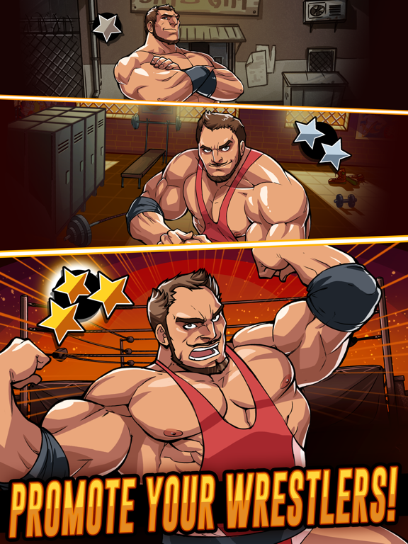 The Muscle Hustle: Wrestling Скриншоты6