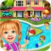 甘い女の赤ちゃんプールパーティー - iPhoneアプリ