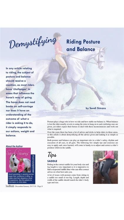 Hoofbeats Magazine