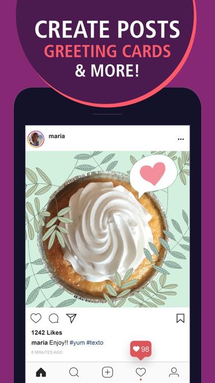 Texto - Text on Photos screenshot-3