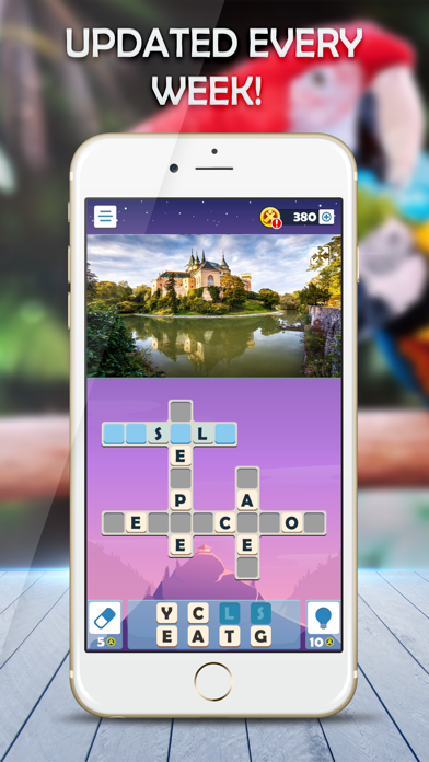 Puzzle Club: Jumble Crosswords screenshot 3
