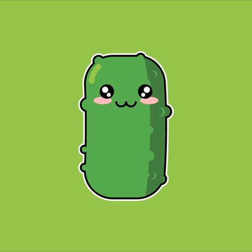 Kawaii Pickle Cute Pickles By Mar Kevin Cayabyab