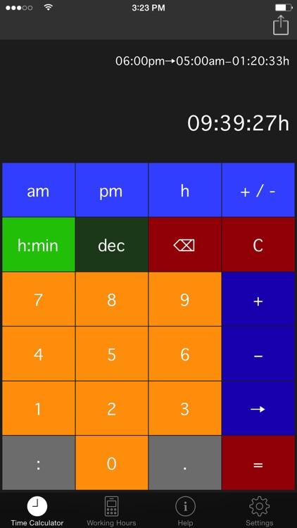 Time.Calc screenshot-4