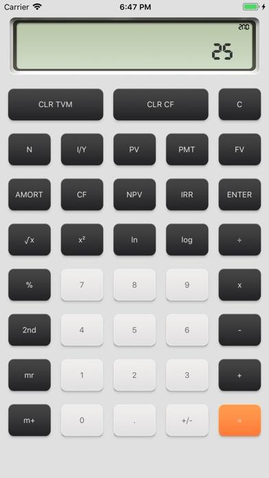 Screenshot #3 for financial calculator一