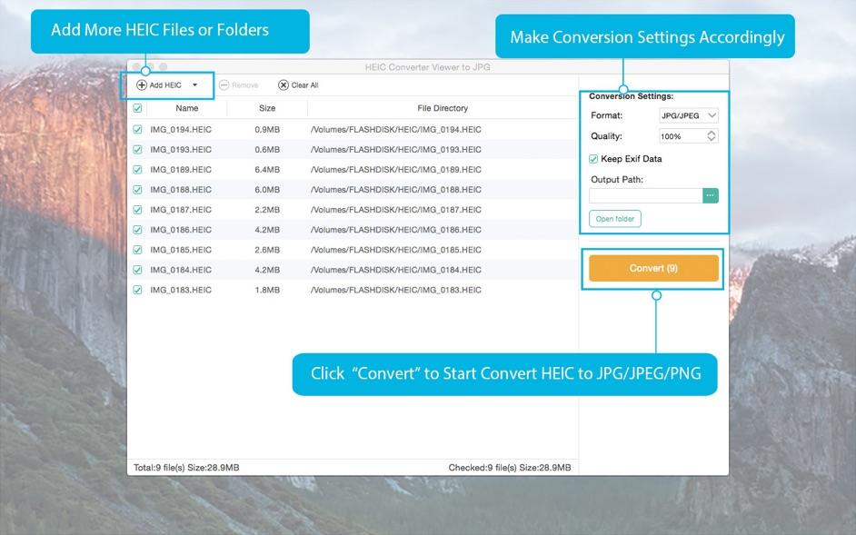 Any HEIC Converter 1.0.17 破解版 – HEIC图片转换器-麦氪派