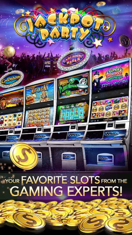Slots! Jackpot Party Casino screenshot-0