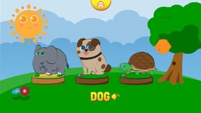 Funny Animals: Kids ABC Game screenshot two