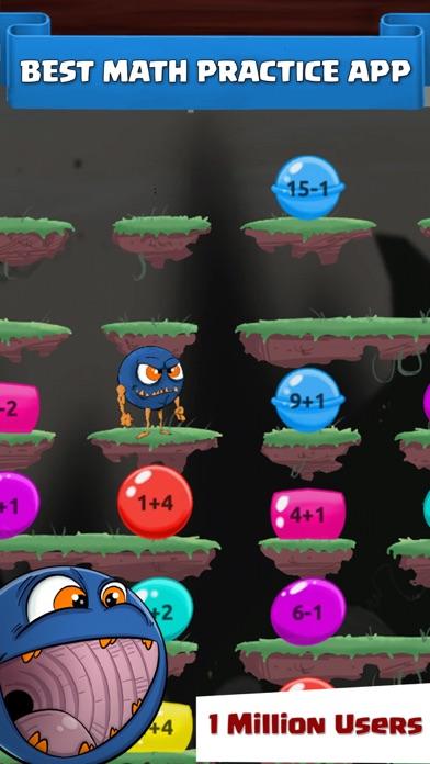 Cool Monster Maths Kids Games screenshot one