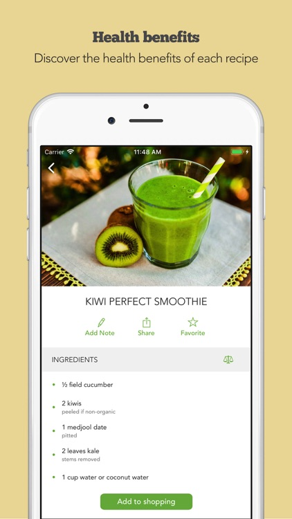 Green Smoothies by Young & Raw screenshot-4