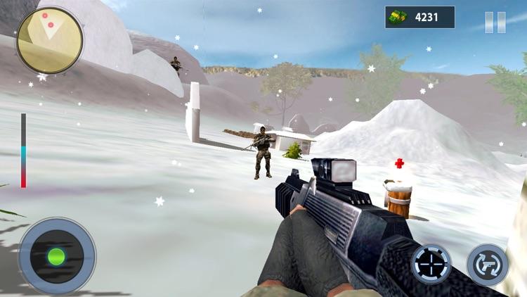 Snow Mountain Sniper Shooting screenshot-4