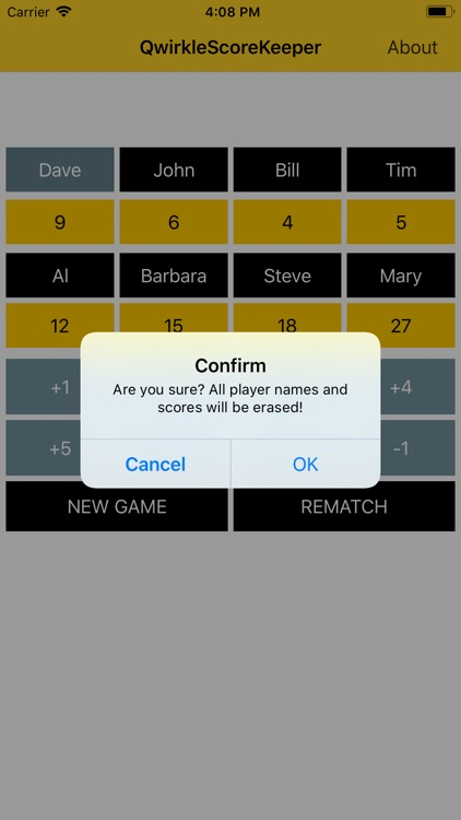 Qwirkle Score Keeper screenshot-5