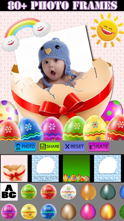 Happy Easter Frames screenshot-0