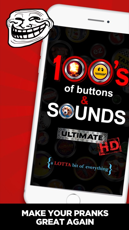 100's of Buttons & Sounds HD