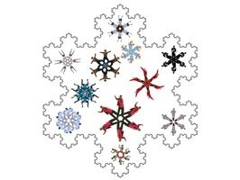 We have created the most fun snowflake sticker pack of the moment