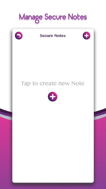 Lock Secret Notes Private note
