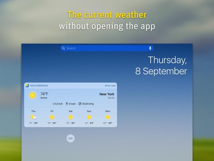 WeatherPro for iPad screenshot-3