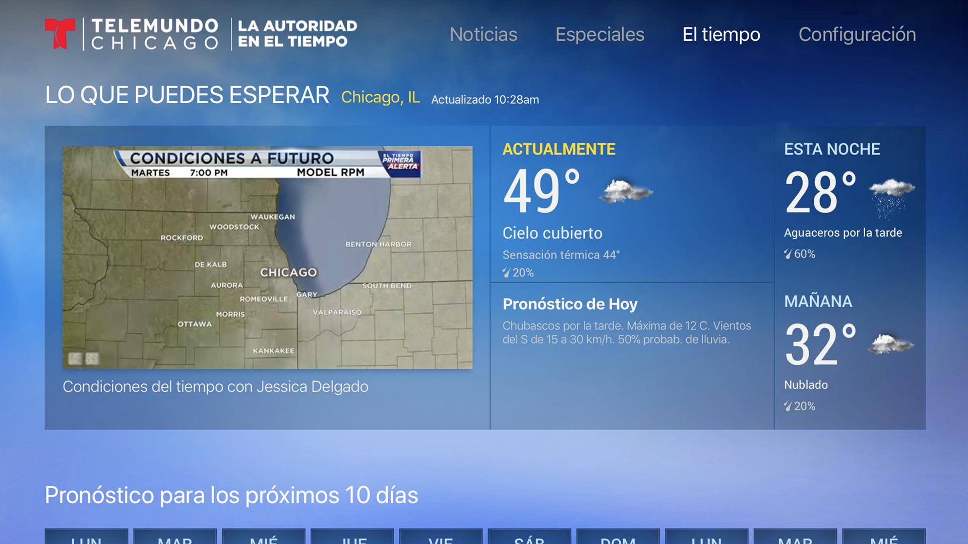 Telemundo Chicago screenshot 17