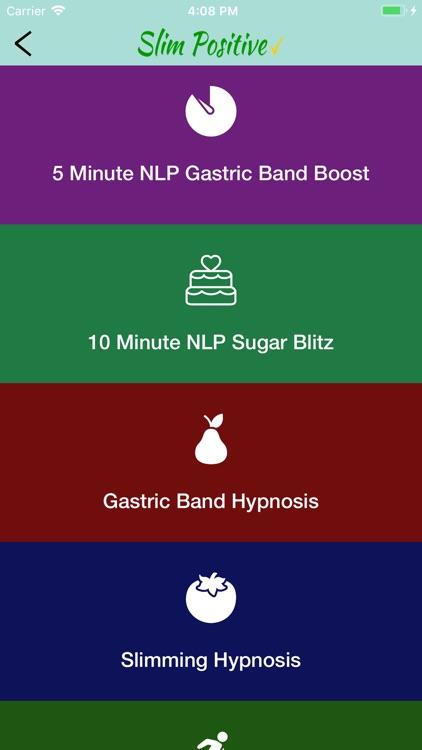 SlimPosGastric Band Hypnosis screenshot-3