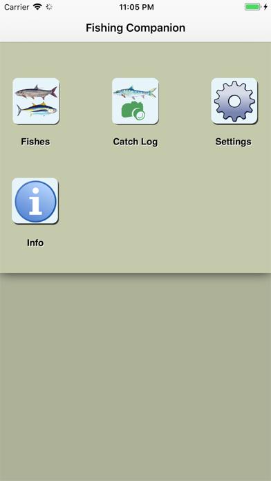 LA Saltwater Fishing Companion Screenshot