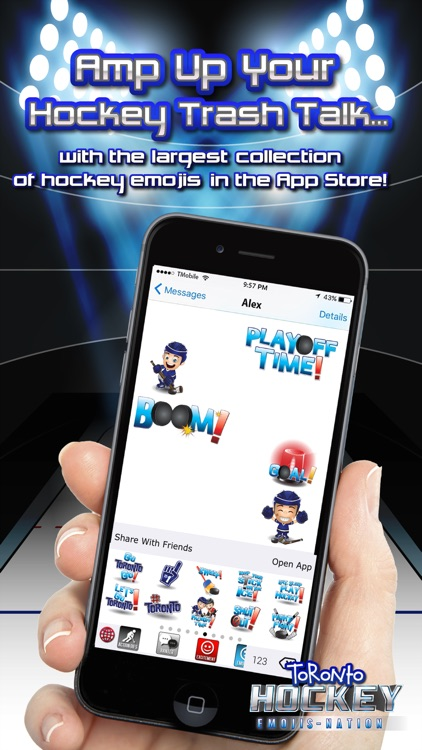 Toronto Hockey Emojis screenshot-2