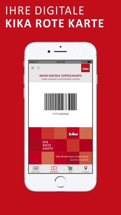 kika Rote Karte App