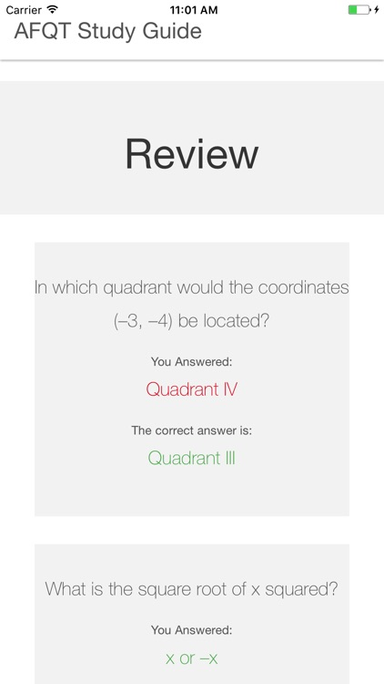 AFQT Study Guide screenshot-4