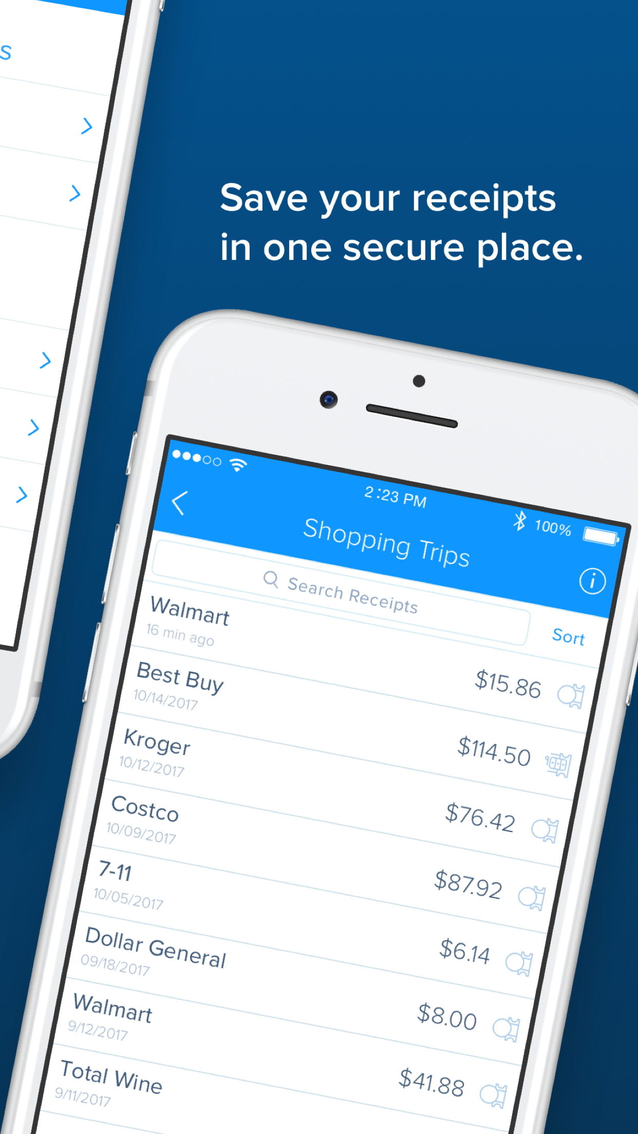 Receipt Hog - Get paid to shop Screenshot
