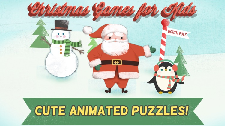 Christmas Games for Kids: Toddler Jigsaw Puzzles