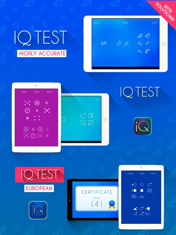 Screenshot #4 pour IQ Test Pro Edition
