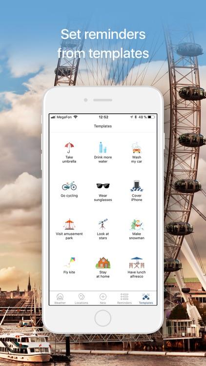Weather Reminder Plan.Check.Do screenshot-4