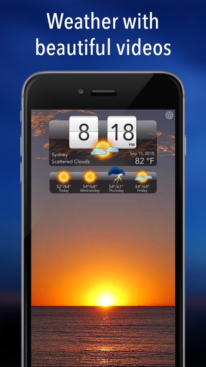 Living Weather HD screenshot-0