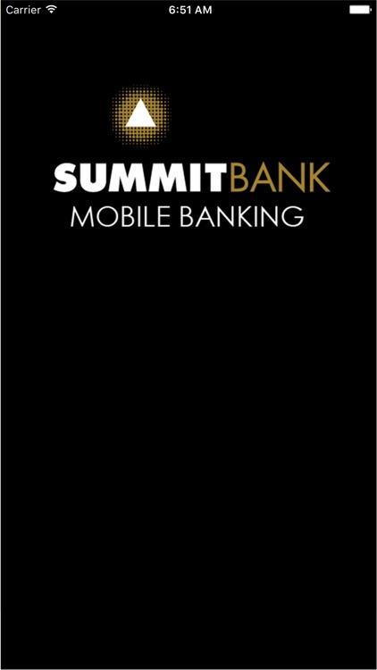 Summit Bank (OR) Mobile Banking