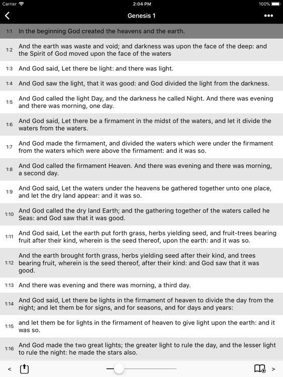 Bible-Simple Bible HD (ASV) screenshot-0