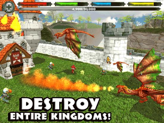 World of Dragons: 3D Simulator для iPad