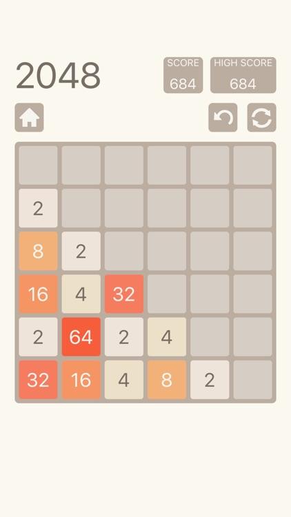 2048 Plus: Number Puzzle Game screenshot-3